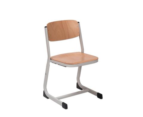 Schuelerstuhl hoehenverstellbar geschlossener Sitztraeger-1