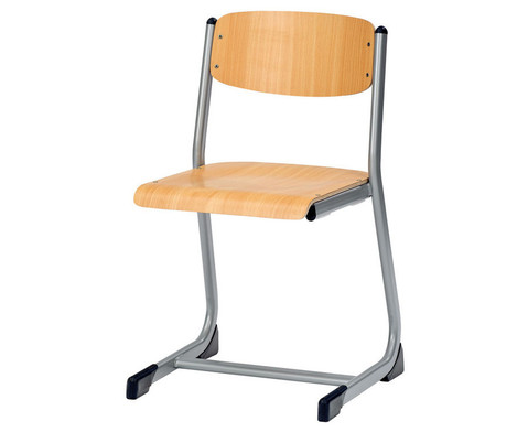 Schuelerstuhl offener Sitztraeger Sitzhoehe 50 cm-1