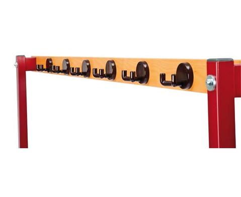 Sitz- und Garderobenbank Laenge 200 cm-2