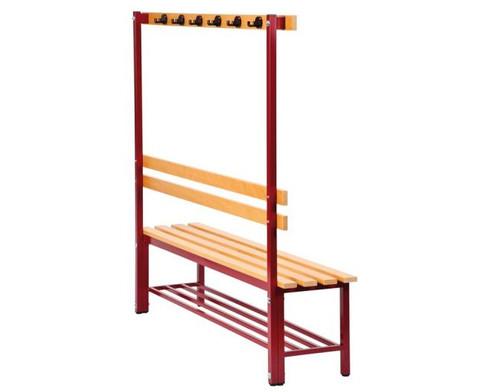 Sitz- und Garderobenbank Laenge 150 cm-3