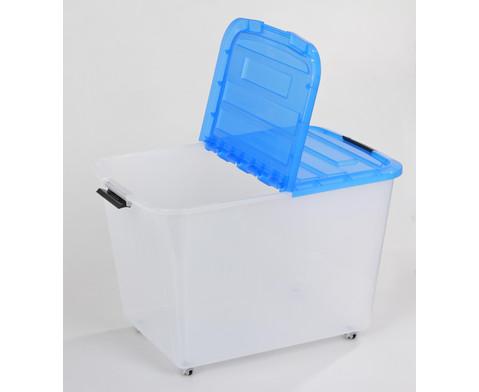 Roll-Container 60 l geteilter Deckel-3