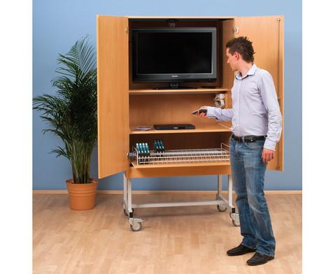 Fernsehschrank-Set Moviesafe Flat TV Profi-1