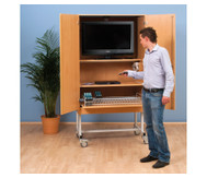 Fernsehschrank-Set Moviesafe© Flat TV Profi
