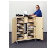 Laptop-Locker für 17''-Laptops, 16 Einlegeböden