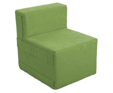 Kuschelelement Sessel aus Stoff-3