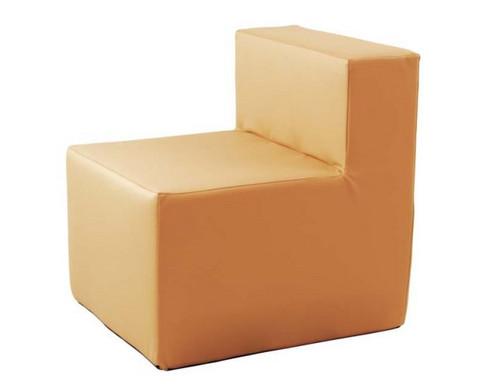 Kuschelelement Sessel aus Kunstleder-4