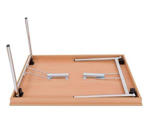 Klapptisch 140 x 80 cm  4-Fuss-Gestell-2