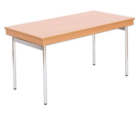 Klapptisch 160 x 80 cm 4-Fuss-Gestell-1