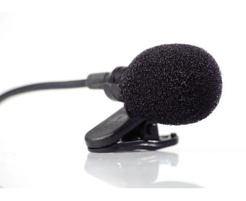 Funk-Ansteckmikrofon mit Empfaengereinheit-2