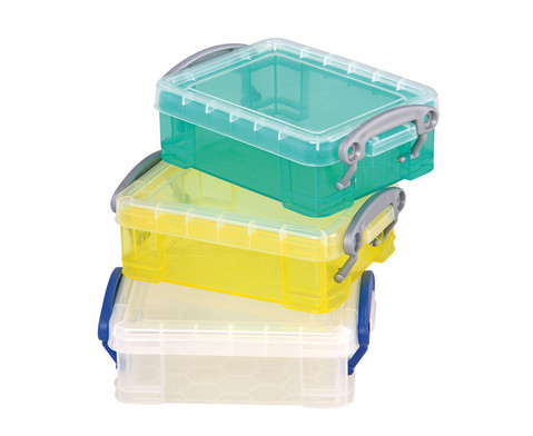 Mini-Container-Set 1 transparent gelb tuerkis-1
