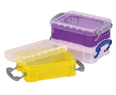 Mini-Container-Set 2 transparent gelb lila-1