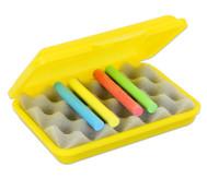 Kreidebox mit Schaumstoffeinsatz