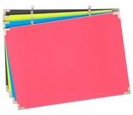 Schaumstoff-Pinnwände,60x90cm, 4 Farben im Set