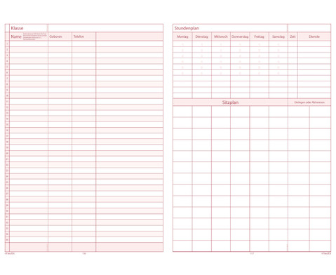 TimeTex Schulplaner 2016-2017 Format A4 plus-4