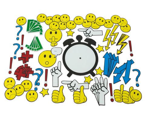 Betzold Magnetische Emoticons und Diskussionssymbole