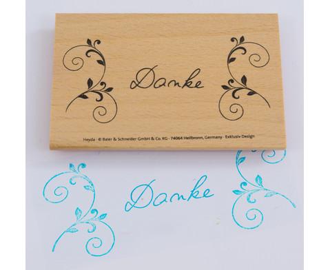 Stempel mit Schriftzug 8 x 4 cm-2