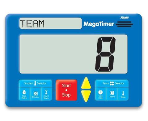 Zeitdauer-Uhr Digital Mega-4