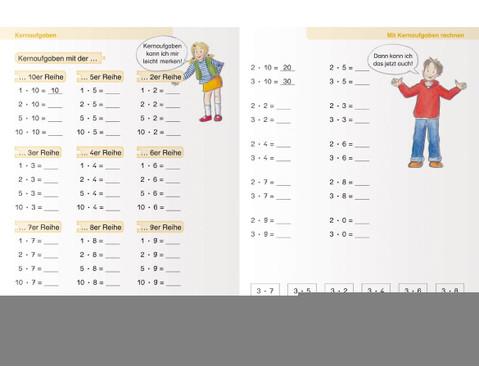Ich kann multiplizieren und dividieren fuer die 2 Klasse-2