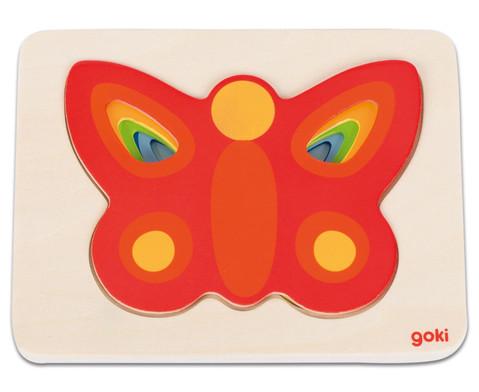 Schichtenpuzzle Schmetterling ll-2
