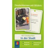60 Fotokarten In der Stadt - Deutschlernen mit Bildern
