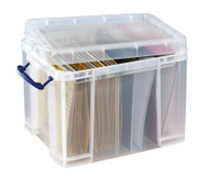 Aufbewahrungsbox 35 l für Ordner & Hängeregistraturen