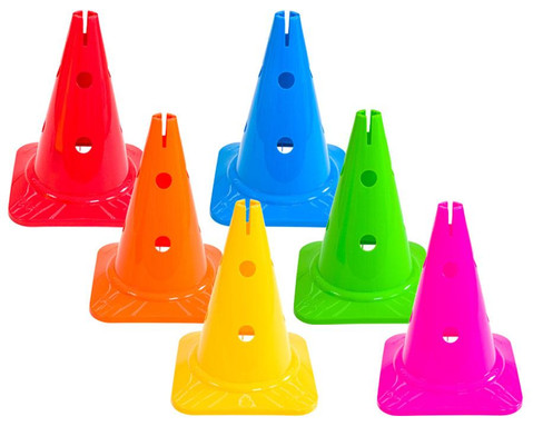 Betzold Spielkegel Regenbogen 6er-Set