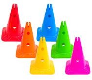 Spielkegel Regenbogenset, 6 Stück