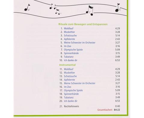 CD - Vom Bewegungshit zum Enspannungslied-4