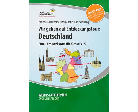Lernwerkstatt Wir gehen auf Entdeckungstour Deutschland-1