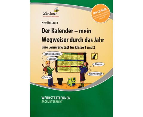 Lernwerkstatt Der Kalender - mein Wegweiser durchs Jahr-1