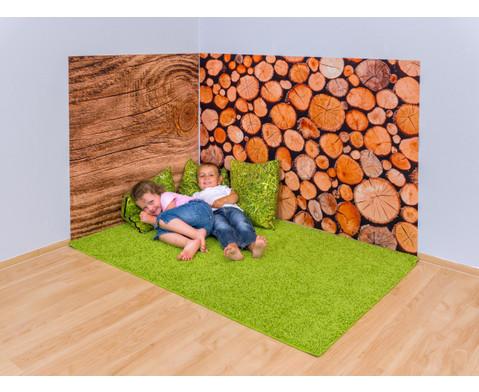 Erlebnisecke aus Wand-  Bodenteppiche-9