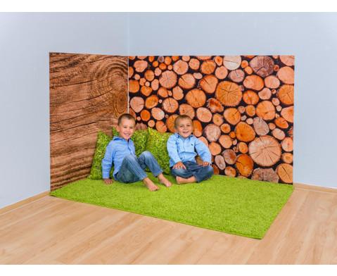 Erlebnisecke aus Wand-  Bodenteppiche-10