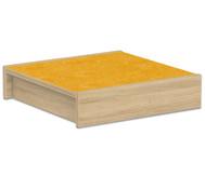 Kleines Podest - Quadrat 50x50cm