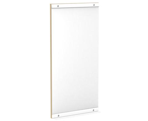 Wandspiegel fuer kleine Podeste 100x50cm