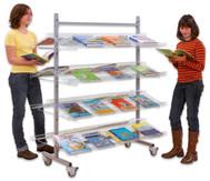 Ständer für  Lesematerial/Prospekte Modell LR 15 DN, doppelseitig