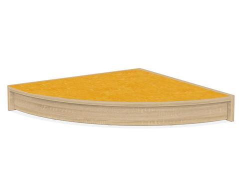 Podest - Viertelkreis 75x75 cm