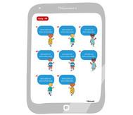 Tellimero Lerntablet: Buchstaben und Wörter entdecken