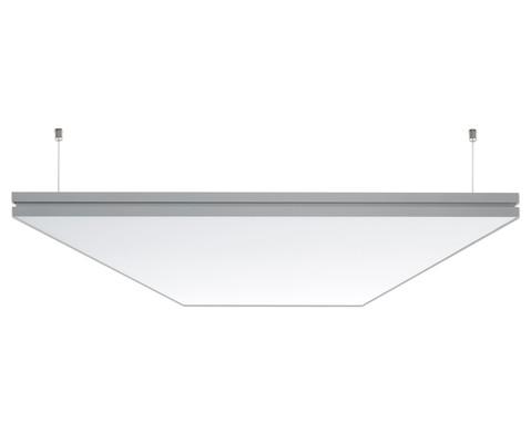 xilent Akustik-Deckenpaneel Farbe 1-seitig