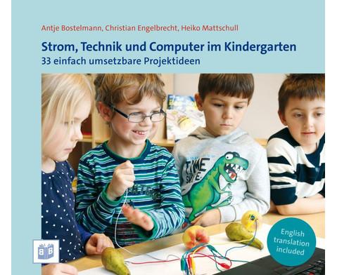Strom Technik und Computer im Kindergarten