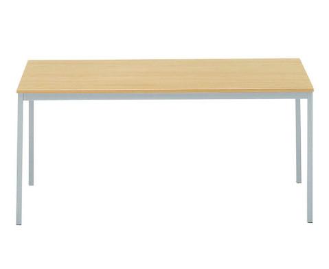 Vielzwecktisch 160 x 80 mit quadratischen Tischbeinen