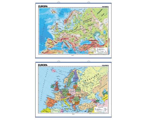 Wandkarte Europa