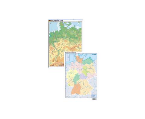 Lernkarte Deutschland