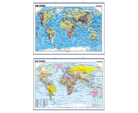 Betzold Landkarte Die Erde