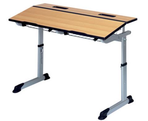 Aluflex-Zweier-Tisch DIN-ISO Groessen 4567