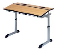 Aluflex-Zweier-Tisch DIN/ISO Größen 4,5,6,7