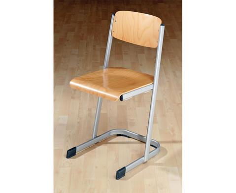 Schuelerstuhl mit Knierolle Sitzhoehe 46 cm
