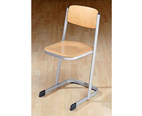 Schuelerstuhl DIN ISO 5970 4 Sitzhoehe 38 cm