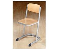 Schülerstuhl, DIN ISO 5970: 4, Sitzhöhe: 38 cm