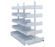 VIVAX Systemregal, doppelseitiges Anbaufeld 200x100 cm