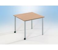 Varimax Quadrat-Tisch fahrbar, höhenverstellbar von 58-72 cm